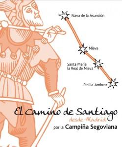 El Camino de Santiago desde Madrid por la Campiña Segoviana
