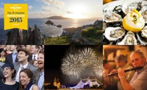Irlanda, elegida por Lonely Planet como uno de los destinos para visitar en 2015