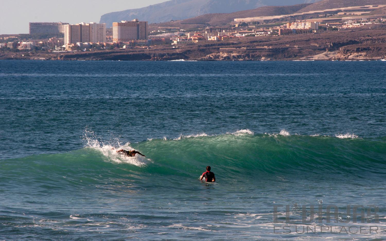 Practicando surf en Tenerife. ©El Viajar es un Placer