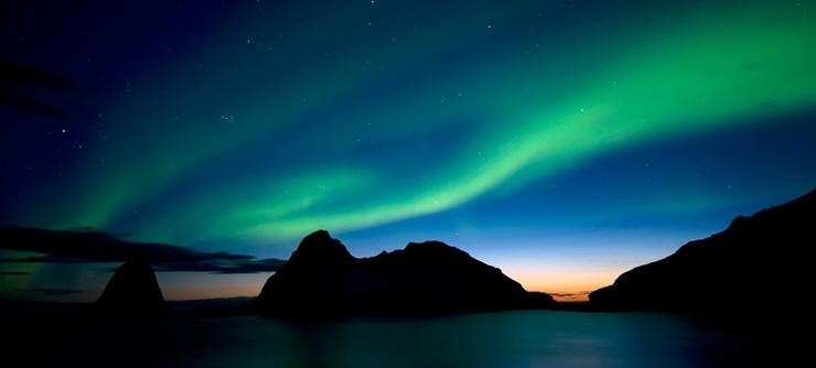 El Norte de Noruega: el reino de la aurora boreal