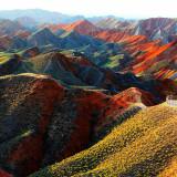 Parque Geológico de Zhangye, China. ©Turimagia