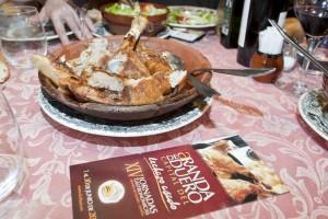Aranda de Duero capital del lechazo asado durante todo el mes de junio