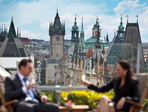 Praga vista desde sus mejores terrazas, una panorámica de altura