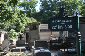 De paseo por el Cementerio de Montmartre en París