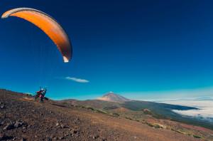 Tenerife no pone límites en invierno a los amantes del deporte