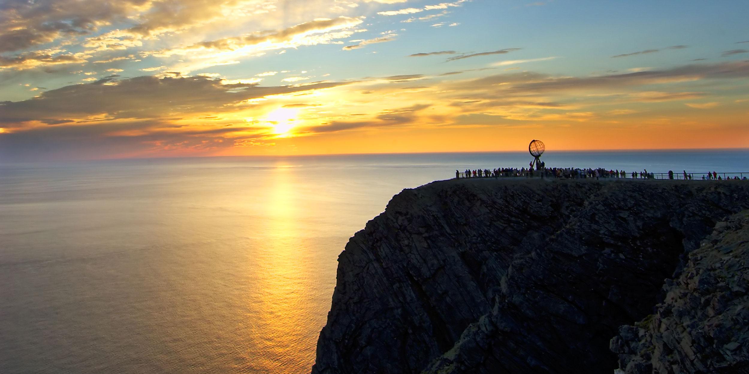 Una vista de la costa de Noruega. ©Hurtigruten