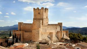 El Castillo de la Atalaya, protagonista de la Semana Santa en Villena