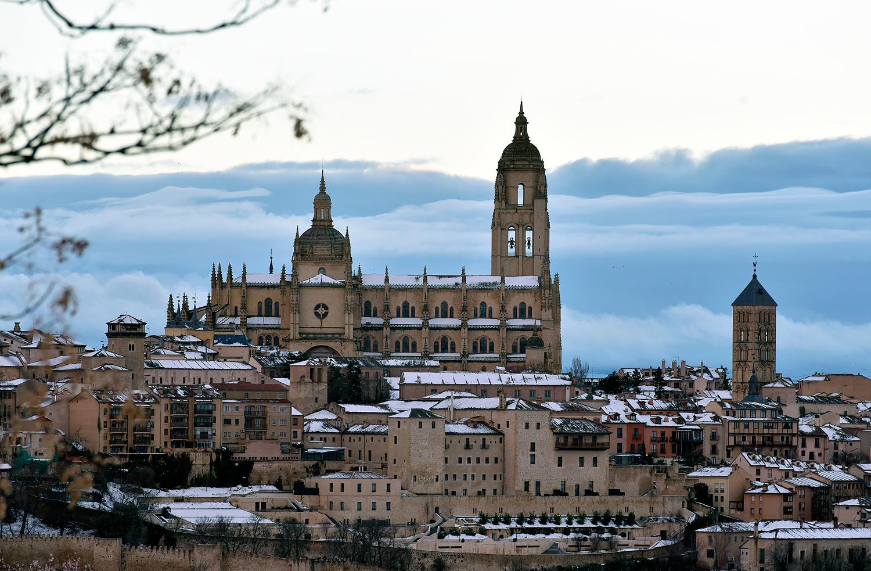 La imponente Catedral  nevada. ©El Viajar es un Placer