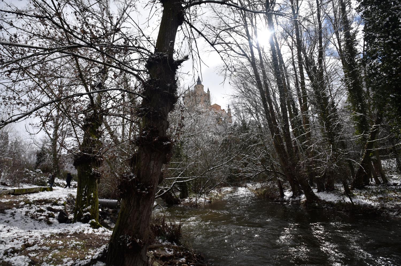 El río Clamores, nevado. ©El Viajar es un Placer