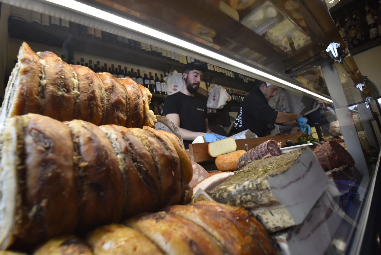 El interior del restaurante All' antico Vinaio. ©El Viajar es un Placer