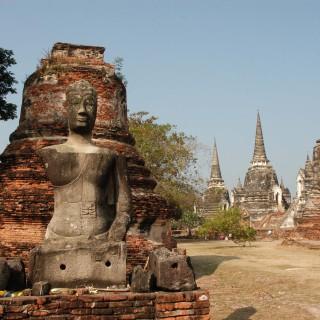 El templo de Wat Phra Si Sanphet