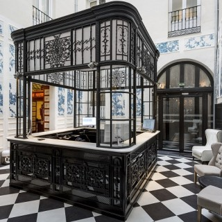 Interior del hotel Only You