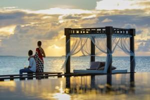 Amanecer y Anochecer en Maldivas desde las villas más lujosas de Angsana Velavaru