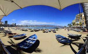 Las Canteras se posiciona como una de las mejores playas urbanas del mundo