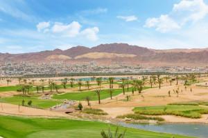 Jordania estrena su primer campo de golf en el Mar Rojo