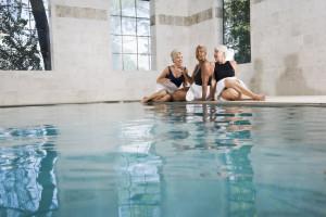 Las aguas del balneario El Raposo, una terapia de salud