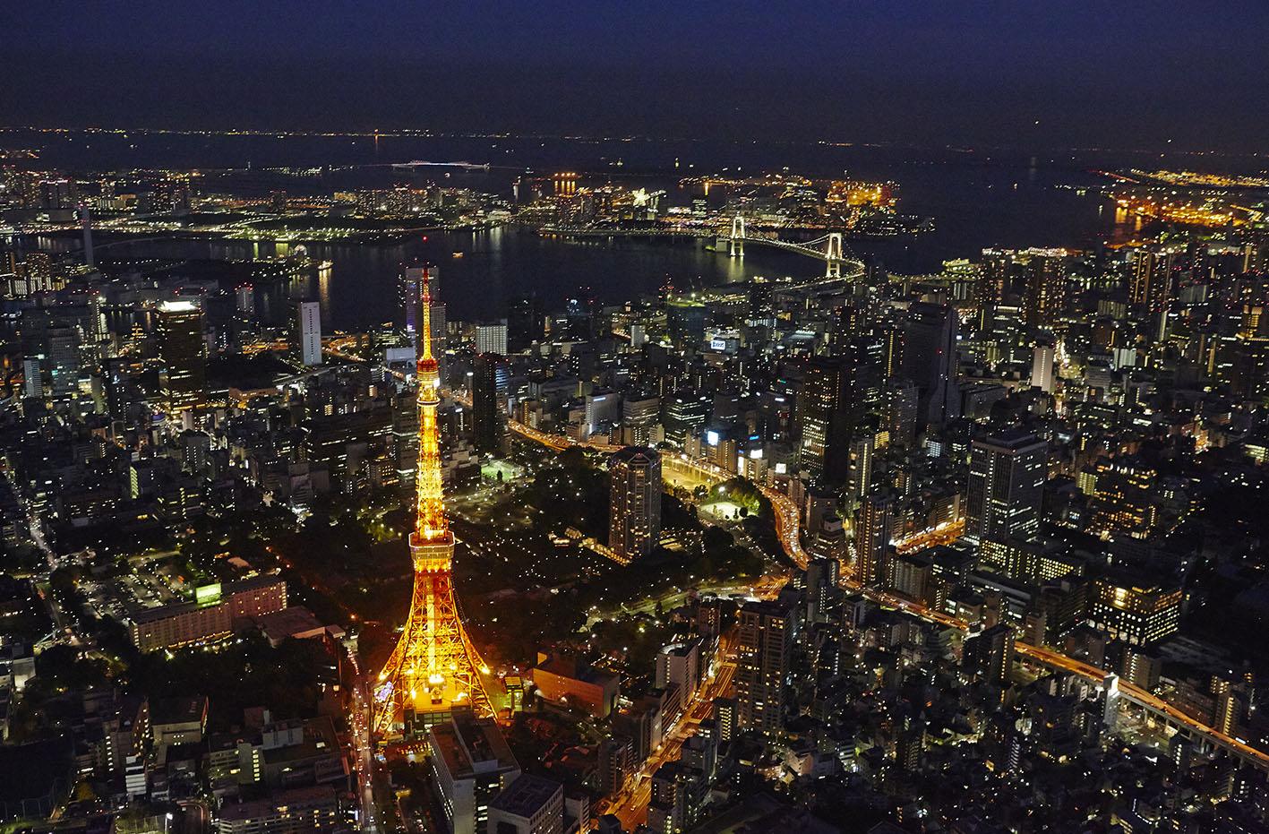 Vista Aerea Tokio