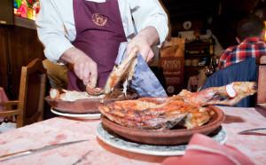 Arrancan las XVII jornadas del lechazo asado de Aranda de Duero