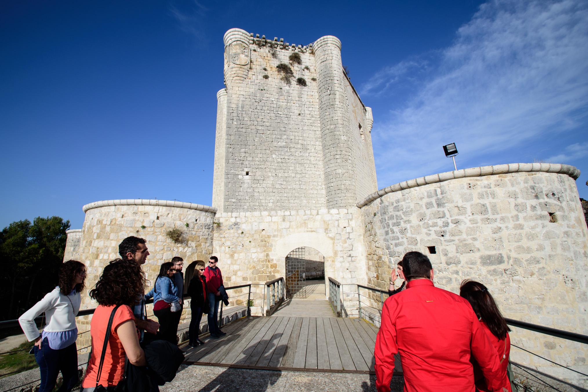 Castillo de Íscar, en Valladolid.