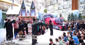 El aeropuerto de Changi en Singapur se transforma en un pequeño parque temático de Harry Potter